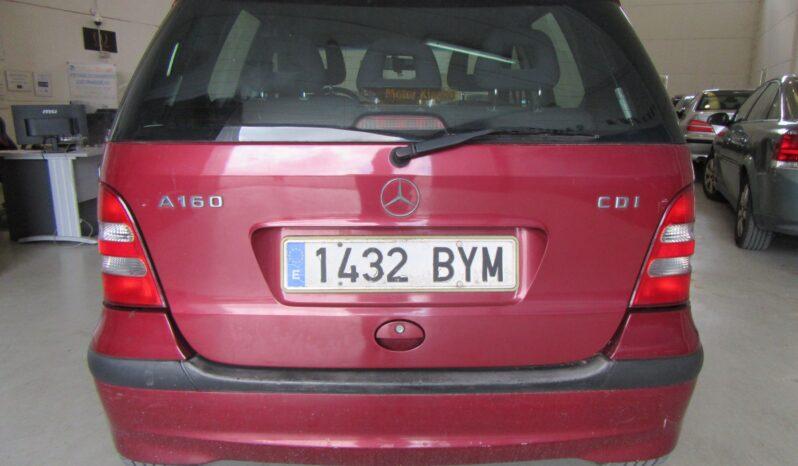 Mercedes-Benz A-Klasse A 160 CDI Classic lleno